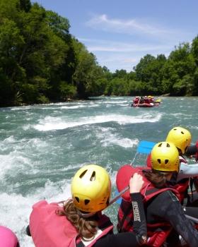 Rafting Pau Oloron